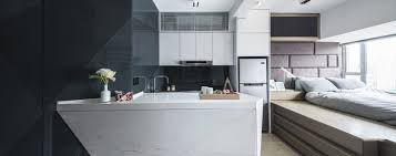 interior design of a kitchen how clever design made 270 sq ft hong kong flat a spacious home for