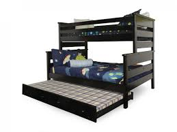 Bunk Bed Trendwood Laguna Black Cherry Twin Over Full Bunk Bed With Trundle