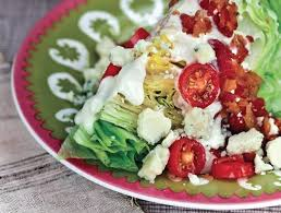 blt salad with blue cheese dressing recipe ninja