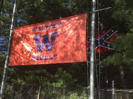 Confederate Flag Checks Walpole U0027w U0027 Confederate Flag Blocker Draws Extra Police Patrols