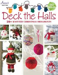 deck the halls 20 knitted ornaments s