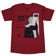 Black Flag Nervous Amazon Com Black Flag Everything Went Black T Shirt Clothing