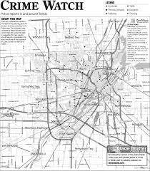 Napoleon Ohio Map by Suburban Crime Log 5 6 The Blade