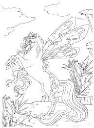 dessin a colorier magique cheval pour cp dessincoloriage