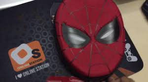 ร ว ว spider man zip up stationery kit youtube