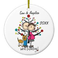 expecting ornaments keepsake ornaments zazzle