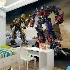 transformers bedroom 3d transformers photo wallpaper murals for kids bedroom boys bedroom