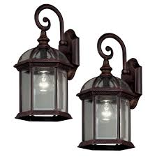 hamilton bay light fixtures lighting outdoor security light fixtures led home depot lowes