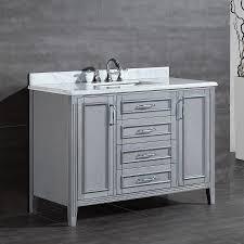 Ove Decors Bathroom Vanities Ove Decors Daniel 48 Inch Single Sink Bathroom Vanity With Marble