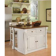 antique white kitchen island home styles monarch kitchen island with two stools in antique