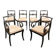 Antique Regency Dining Chairs Set Of Six English Regency Dining Chairs Antique U0026 Vintage