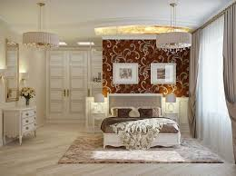 romantic master bedroom big small round pink poffes white