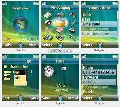download themes on mobile phone download windows vista theme for sony ericsson mobile phone askvg