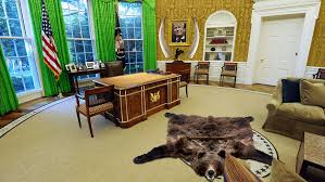 Gold Curtains In The Oval Office Will Donald Trump Cover The White House In Gold Marketwatch