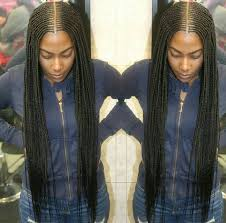 Cornrows Hairstyle With Part In The Middle | middle part cornrows hairstyles pinterest cornrows protective