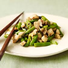 cuisiner haricot vert poulet sauté aux haricots verts recette minceur weight watchers
