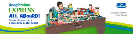 mountain rock train table train table set imaginarium imaginarium classic train table with