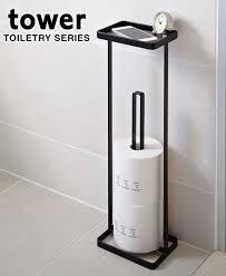 Decorative Toilet Paper Storage The Decorative 2 Pc Toilet Brush Holder Set Hides Bathroom