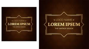 Name Style Design by Illustrator Logo Design Vintage Style Elegent Youtube