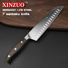 german steel kitchen knives xinzuo 7 inch japanese chef knife german steel kitchen knife