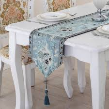 ice blue table runner aliexpress com buy the new elegant european classical embroidered
