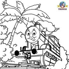 thomas coloring pages kids coloring