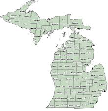 map of michigan michigan county map current asthma data asthma initiative of