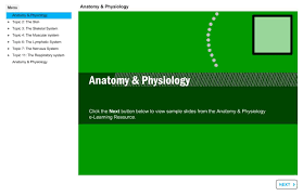 Anatomy Slides E Learning Resources