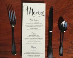 diy wedding menu cards wedding menus printed menus wedding dinner menus wedding