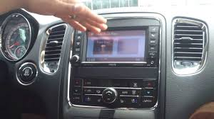 dodge durango stereo 2013 dodge durango 730n infotainment center