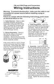 marinco plug wiring diagram gandul 45 77 79 119