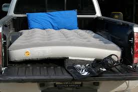 full size air mattress fits in taco u0027s bed with pictures and