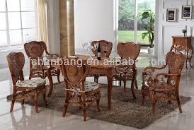 Bamboo Dining Room Chairs Java Home Living Sunroom Natural Rattan Water Hyacinth Bamboo