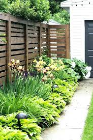 Front Garden Fence Ideas Landscaping Ideas For Front Yard Fence Landscape Fencing Ideas