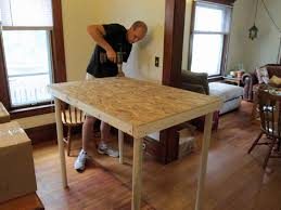 making home from scratch homemade kitchen island