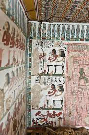 archaeologists uncover ancient egyptian tombs with stunning murals