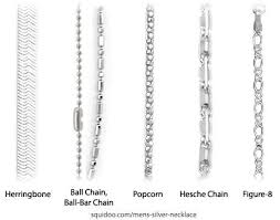 silver necklace types images Different types of chain necklaces google search jewelry jpg