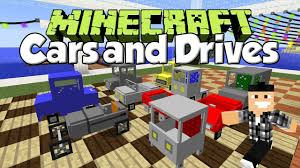 minecraft car pe cars and drives mod 1 7 10 cartoon cars roads highways