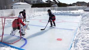 hockey rink kit for backyard arctic ice rink