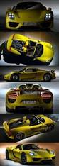 porsche spyder yellow 408 best porsche luxe auto images on pinterest car dream