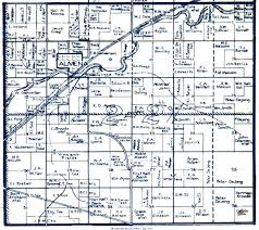 Kansas Counties Map 1935 Norton County Map