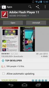 player for apk flash player apk for android 4 1 jelly bean devices direct