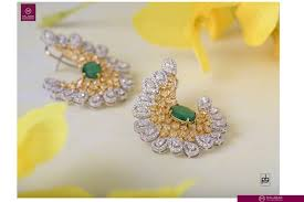 malabar diamond earrings bling it on with opulent ornaments by malabar gold