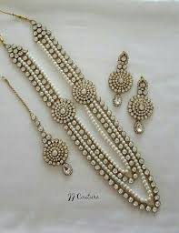 jewelry indian necklace images Designer pearl kundan jewelry set indian jewelry kundan jewellery jpg