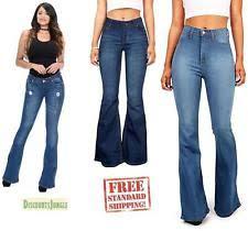 Light Blue High Waisted Jeans Denim High Waist Jeans For Women Ebay