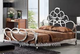 Stainless Steel Venus BedSuper King Size BedRoyal Furniture Sofa - Steel sofa designs