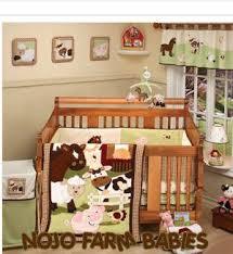 Pony Crib Bedding Farm Theme Nojo Babies Baby Crib Bedding Set Pigs Ponies Lambs