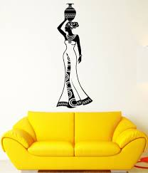 compare prices on wall stickers india online shopping buy low dsu wall decal girl india africa woman tradition history vinyl stickers removable vinyl wall stickers home