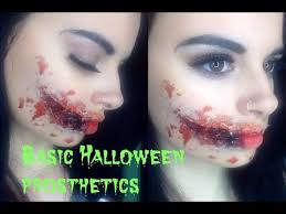 basic halloween prosthetics youtube