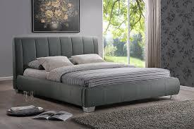 Modern Platform Bed Queen Amazon Com Baxton Studio Marzenia Fabric Upholstered Platform Bed